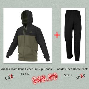 Adidas Men's Size S Hoodie & Pants